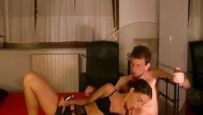 Sexy Italian Girl Fucks on livestream alternative angle