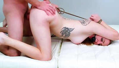 Teen on fire brutally fucked in bondage XXX