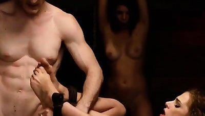 Mom bdsm and erotic female domination Three young sluts,
