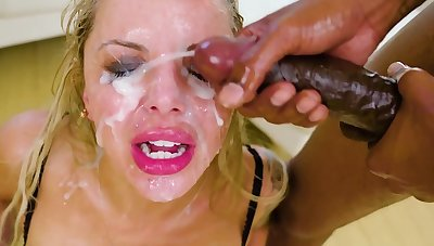 Compilation of the dirty sluts whose faces covered of ton of cum